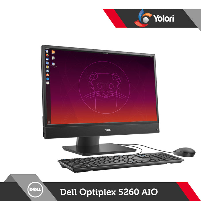 Dell Optiplex 5260 AIO [Ci3-8100, 4GB, 1TB, Intel HD, Linux]