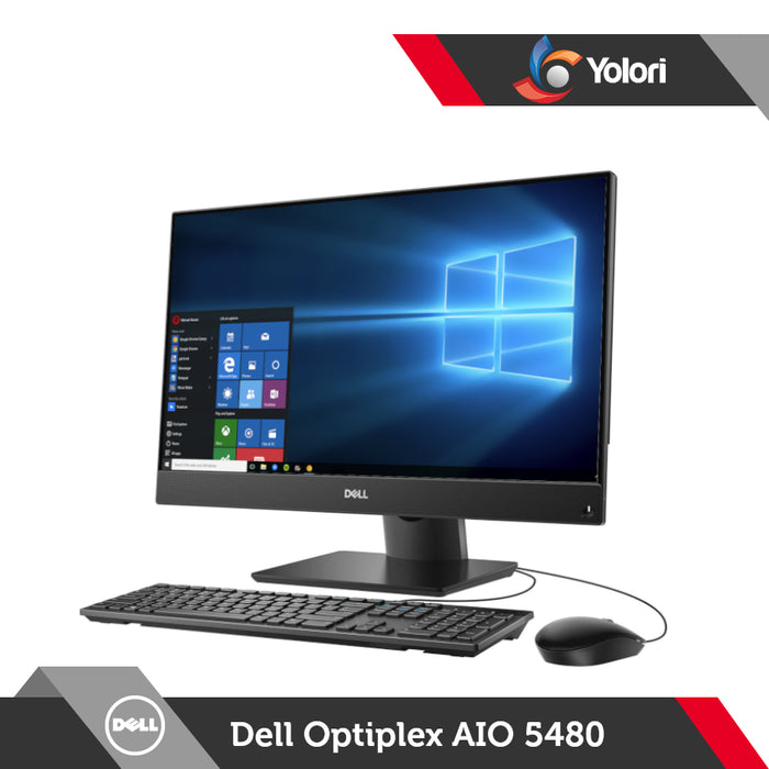 Dell Optiplex 5480 AIO [Ci5-10500T, 8GB, 1TB, Intel UHD, Windows 10 Pro, Touchscreen]