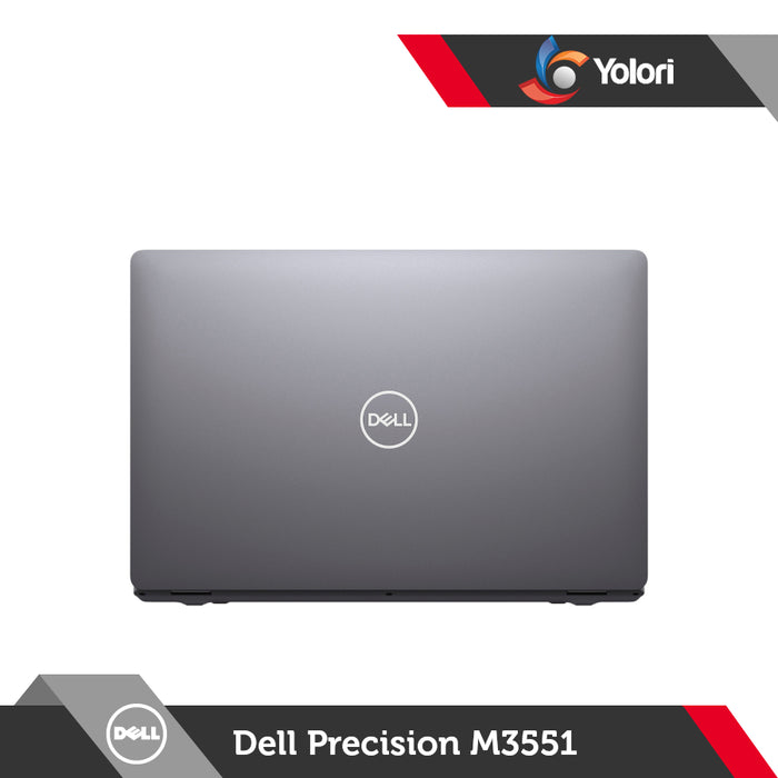 Dell Precision M3551 [Ci7-10850H, 16GB, 512GB, Nvidia Quadro P600, Windows 10 Pro]