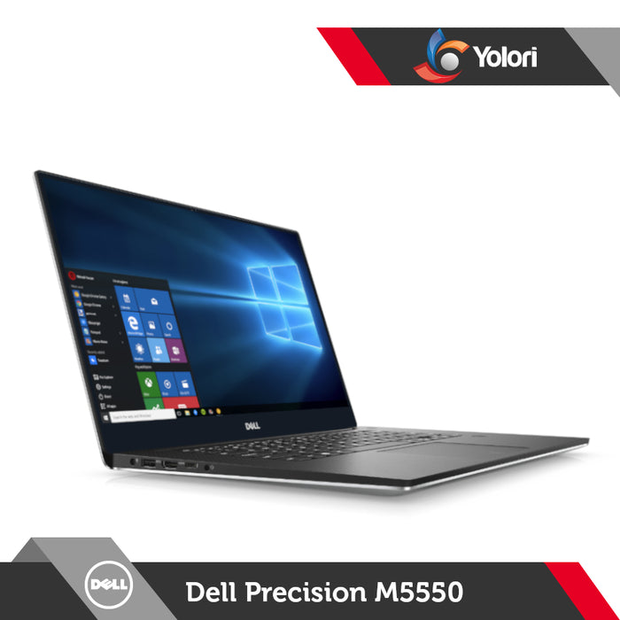 Dell Precision M5550 [W-10855M, 16GB, 512GB, Nvidia Quadro T2000, Windows 10 Pro]