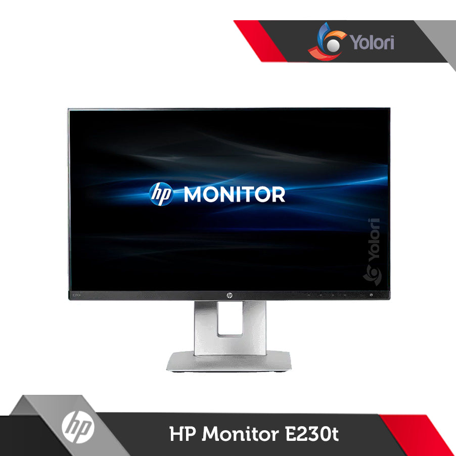 "HP EliteDisplay E230t [23.0"" FHD (1920 x 1080) Anti-Glare IPS, LED Backlight Touchscreen]"