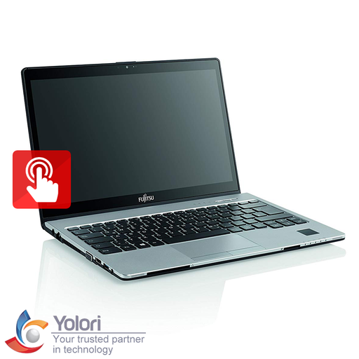 "Fujitsu Lifebook S937-05 [13.3"" FHD Touch, Ci5-7200U, 8GB, 256GB, Intel HD, Windows 10 Pro, Silver] - Yolori.com"