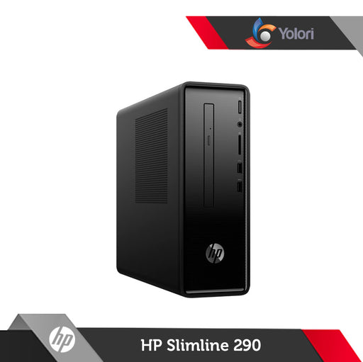 HP Slimline 290-P0039D [P-G5400, 4GB, 1TB, Intel UHD, Windows 10] + HP Monitor 19ka