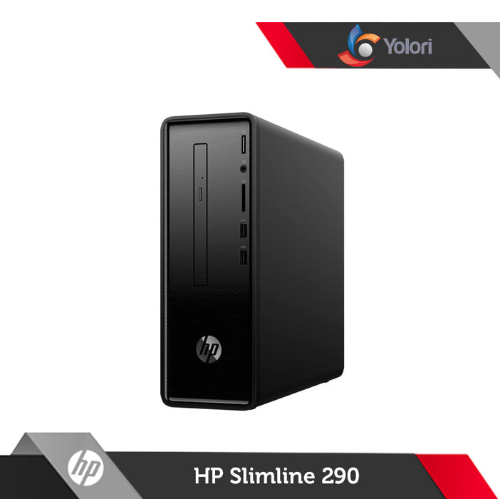 HP Slimline 290-P0032D [Ci3-8100, 4GB, 1TB, Intel UHD, Windows 10] + HP Monitor 19ka