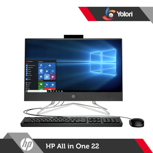 HP AIO 22-dd0116d [Ci3-1005G1, 4GB, 512GB, Intel UHD, Windows 10, OHS 2019]