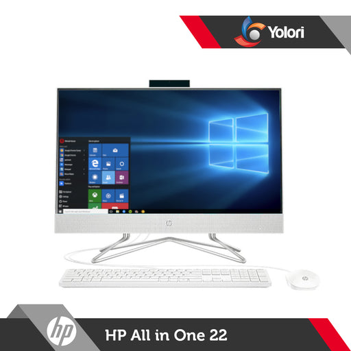 HP AIO 22-df0144d [Cel-J4025, 4GB, 1TB, Intel UHD, Windows 10]
