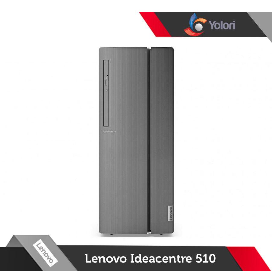 Lenovo Ideacentre 510-90G800 [Ci5-7400, 4GB, 2TB, AMD 2GB, Windows 10] + Lenovo Monitor LI2215s
