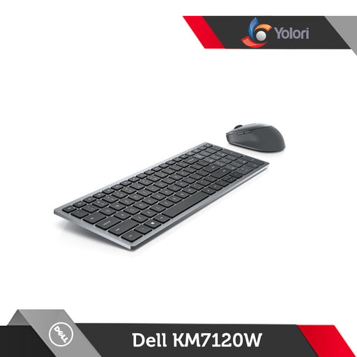 Dell Multi-Device Wireless Keyboard & Mouse Combo KM7120W