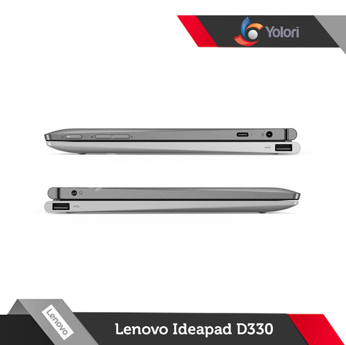 Lenovo Ideapad D330-81H300 [Cel-N4000, 4GB, 128GB, Intel UHD, Windows 10]