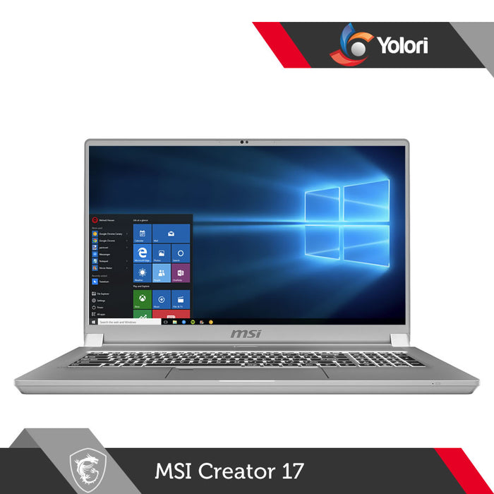 MSI Creator 17 A10SFS [Ci7-10875H, 32GB, 1TB, RTX 2070 S, Windows 10]
