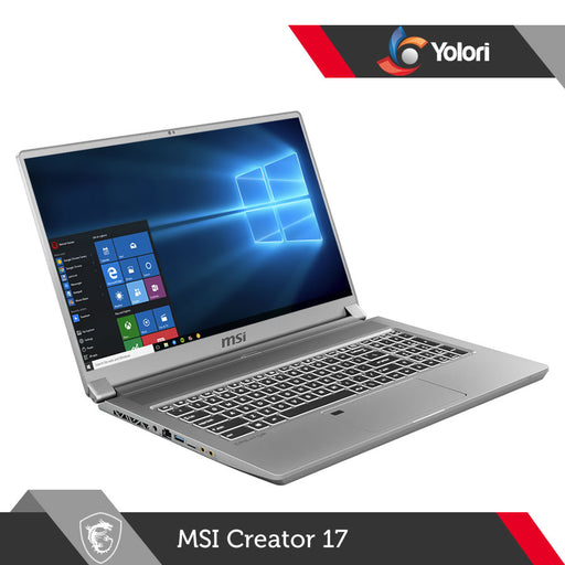 MSI Creator 17 A10SGS [Ci7-10875H, 32GB, 2TB, RTX 2080 S, Windows 10]