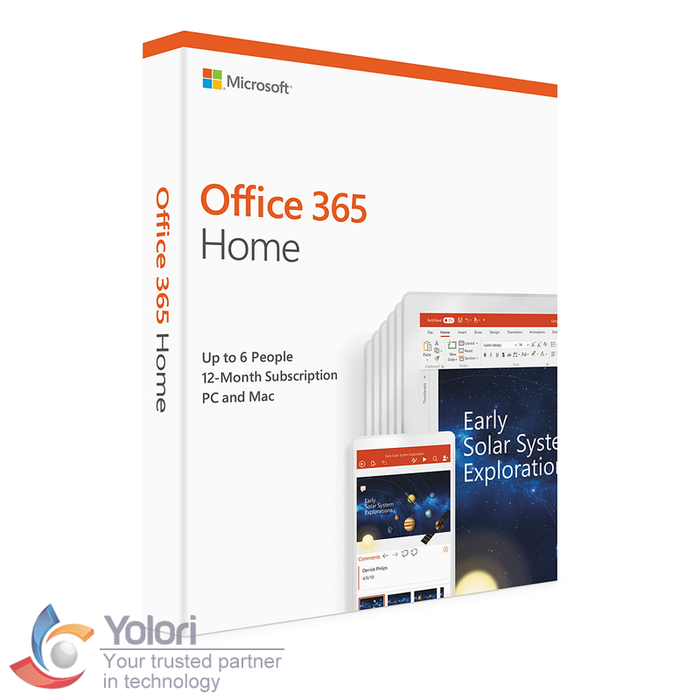 Microsoft Office 365 Home - Yolori.com