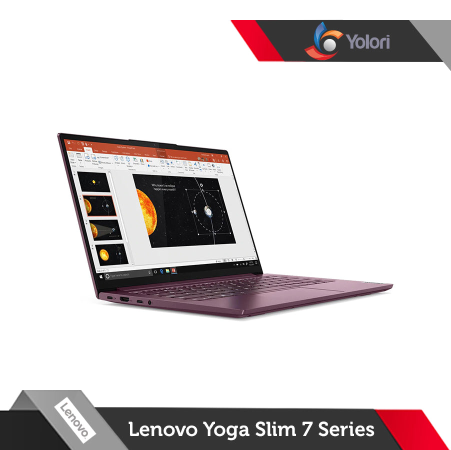 Lenovo Yoga Slim 7-82A100 [Ci5-1035G1, 16GB, 512GB, Nvidia 2GB, Windows 10]