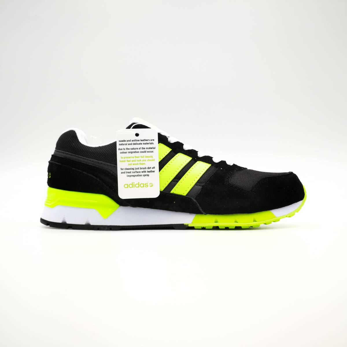outlet store aec0f b6979 Adidas NEO 8K RUNNER Black Neon Green White - Inshout - Nationwide shipping  Pakistan