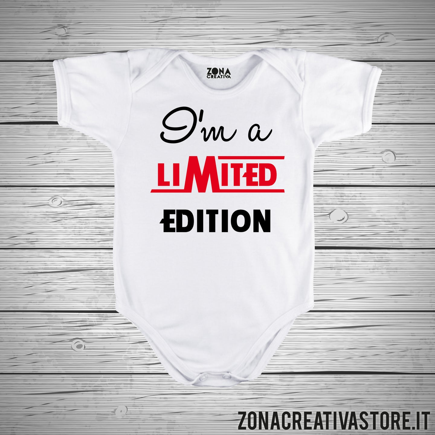 Body neonato I'M LIMITED EDITION