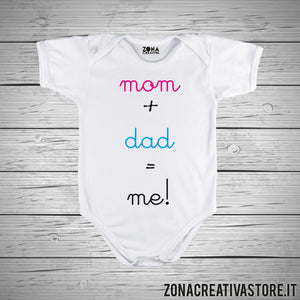 Body neonato mom+dad=me!