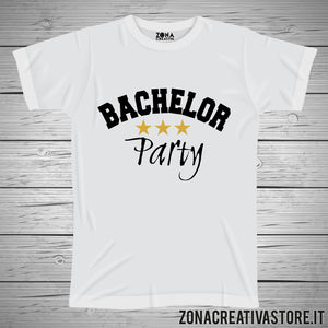 T-shirt addio al celibato BACHELOR PARTY