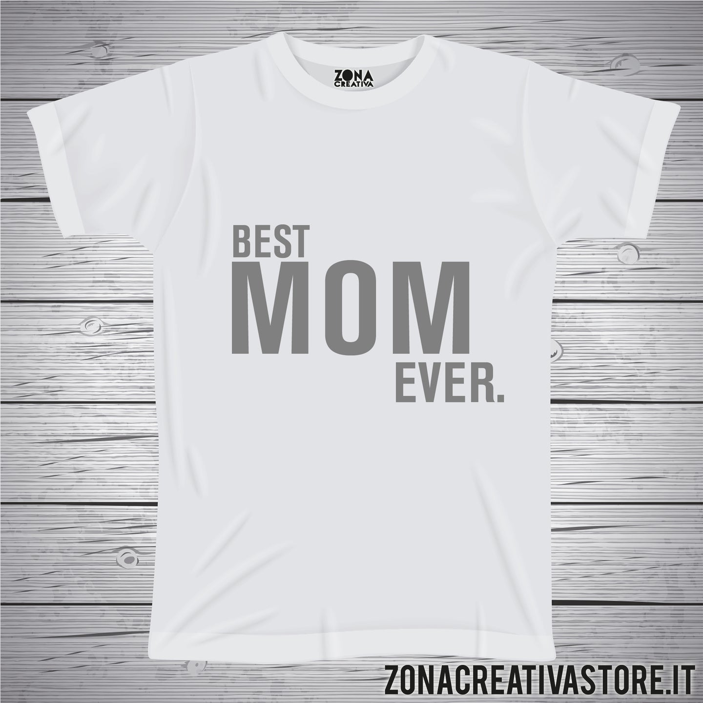 T-shirt per la festa della mamma BEST MOM EVER