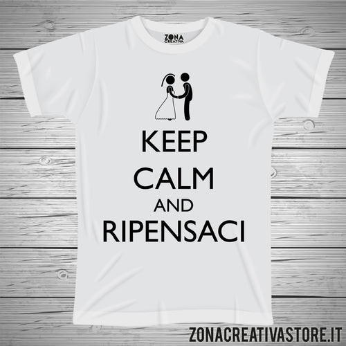 T-shirt KEEP CALM AND RIPENSACI