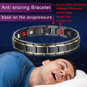 Magnetic Anti-snoring  Bracelet