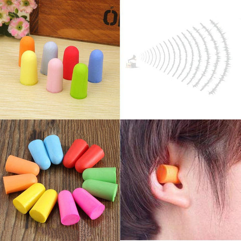 Travel Foam Ear Plugs