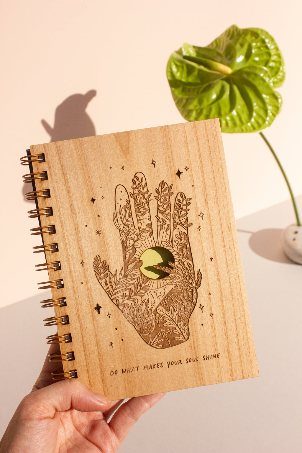 Let Your Soul Shine Handmade Journal