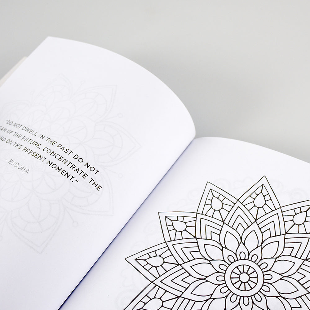 Reverse Karma Meditation Coloring Book
