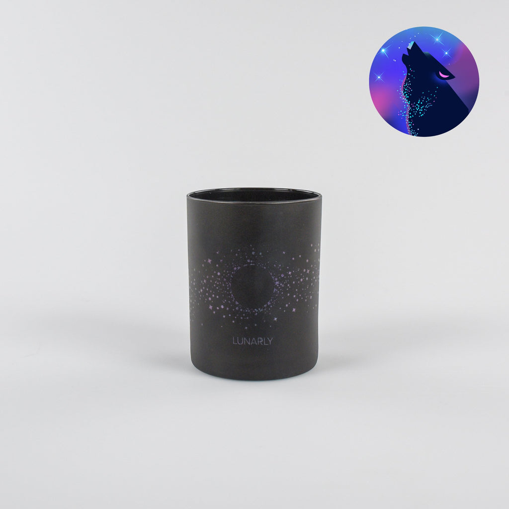 Lunarly Wolf Moon Candle