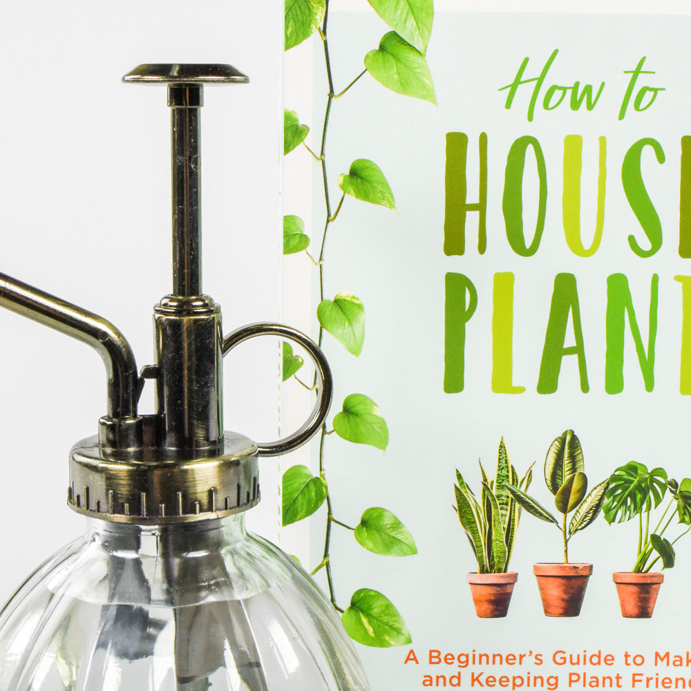 How to Houseplant Book and Plant Mister