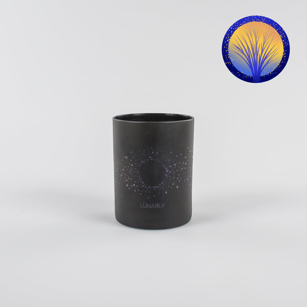 February 2020 Sap Moon Lunarly Candle