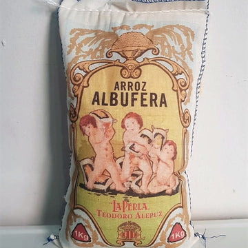 Arroz Albufera DO Valencia Tela 1kg
