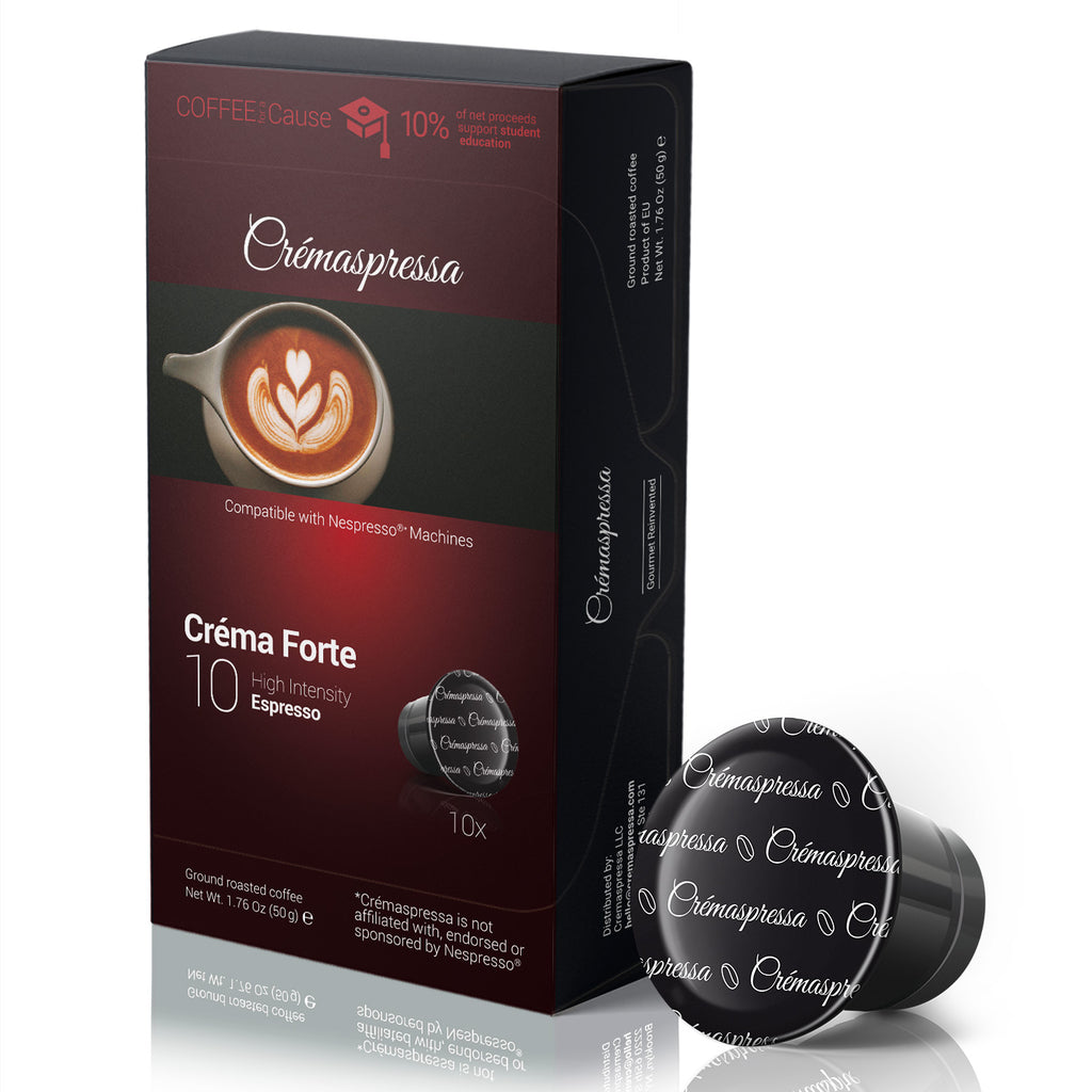 Créma Forte - Espresso Pods - High Intensity (10 Pods)