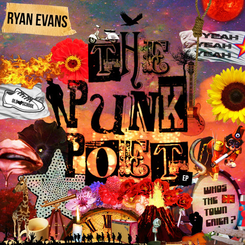 Ryan Evans - The Punk Poet - Limited Edition CD