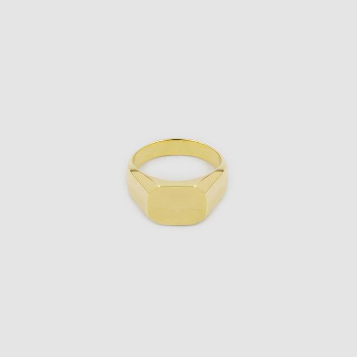 Gold Octagonal Ring