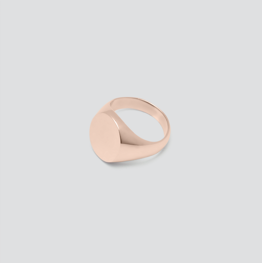 Oval in 14k Rose Gold