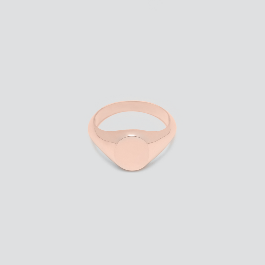 Signet in Rose Gold