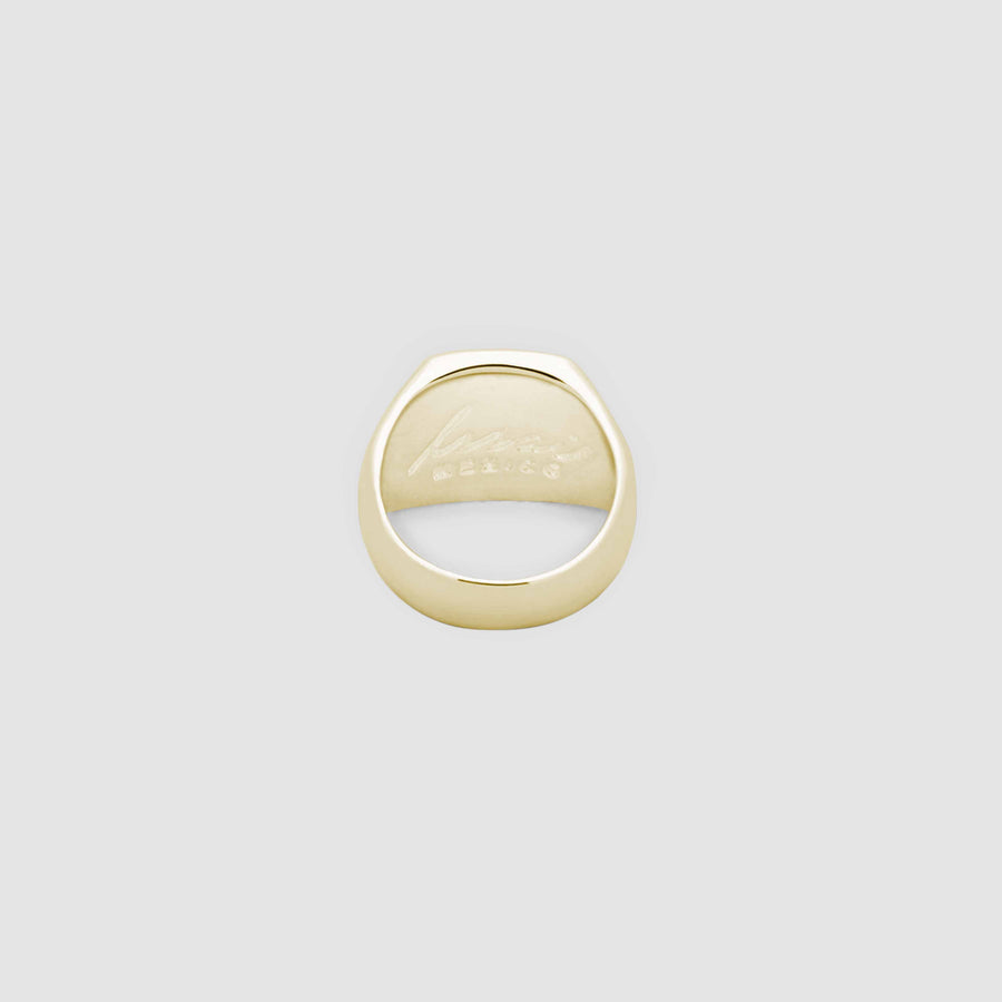 Elipse in Gold with Mother Pearl