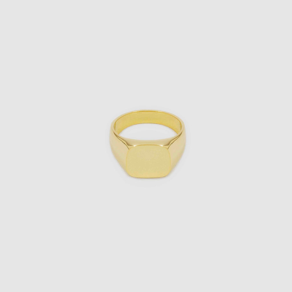 Gold Trapezoid Ring