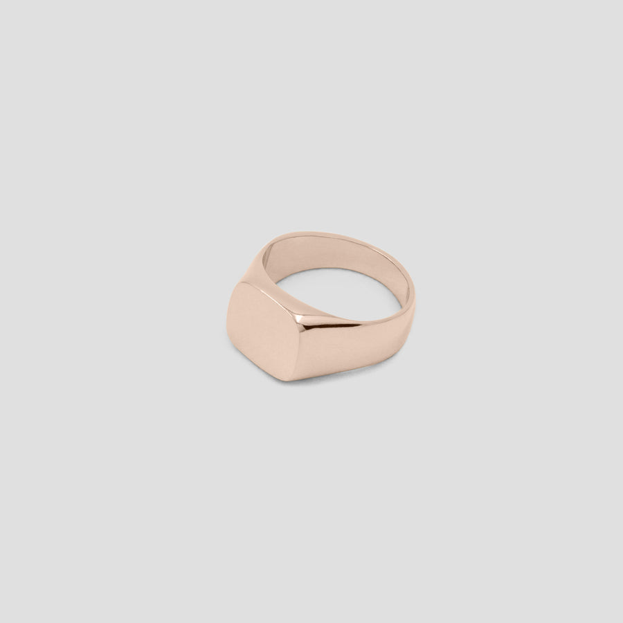 Rose Gold Trapezoid Ring