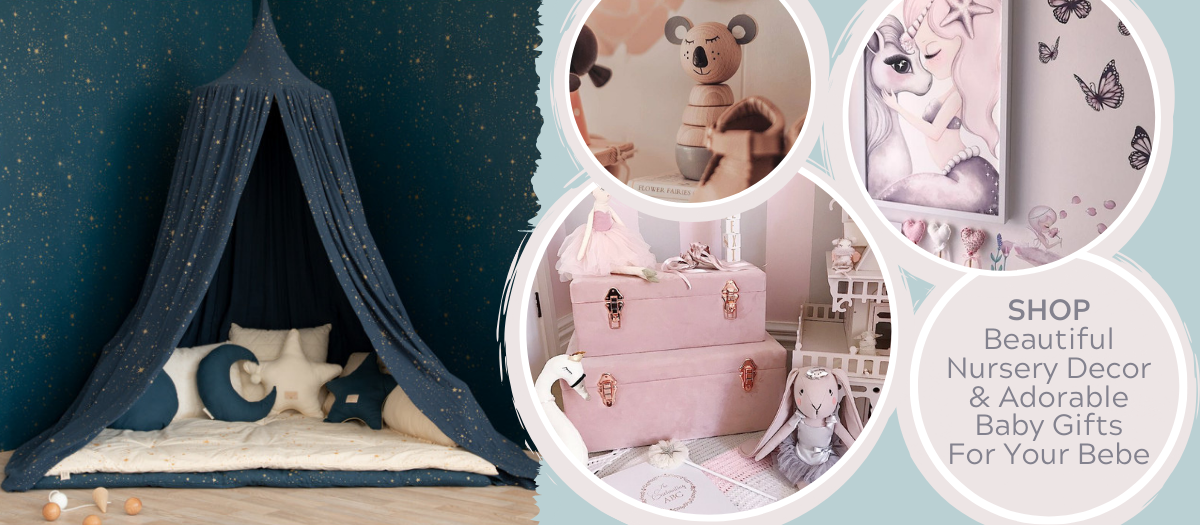 Beautiful Nursery Decor & Gifts For Baby