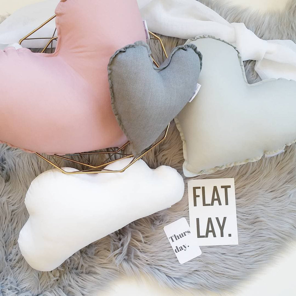 Kids Heart Cushions Combo Pack - Petit Luxe Bebe