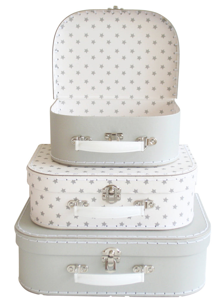 Kids Carry Suitcase Set - Starry Night - Petit Luxe Bebe