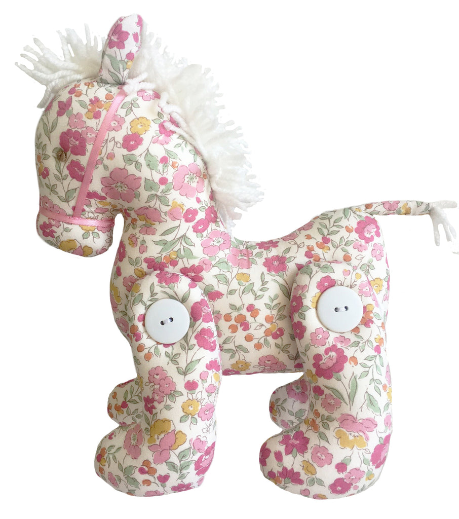 Alimrose Jointed Pony - Rose Garden - Petit Luxe Bebe