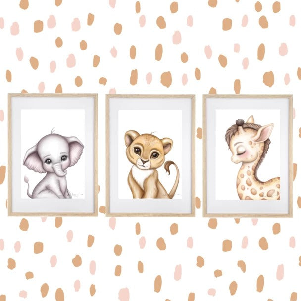 Animals Spots Wall Decals