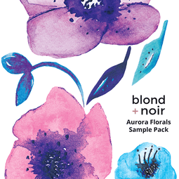 B+N Floral Decal Sample Packs