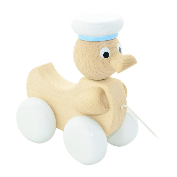 Austin - Wooden Pull Along Toy Duck
