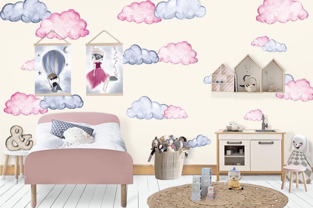 Clouds Wall Decals - Petit Luxe Bebe