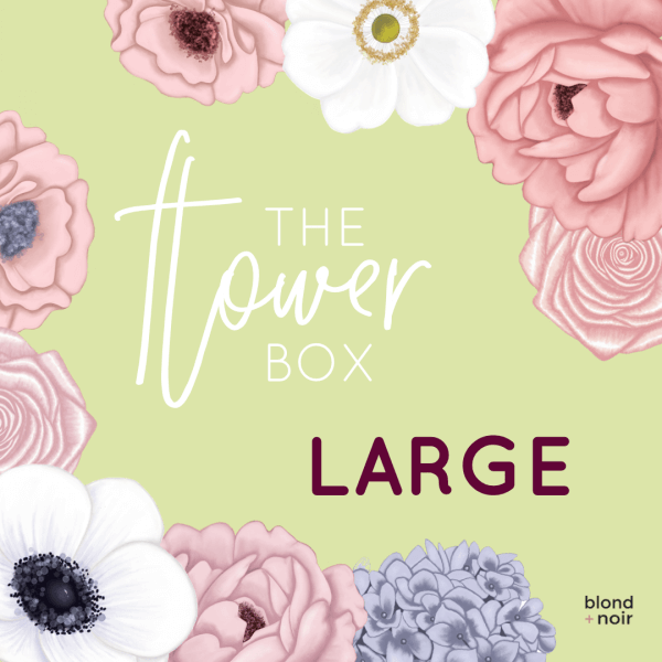 The Flower Box - LARGE | Create Your Own Custom Floral Wall Decals!