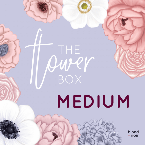 The Flower Box - MEDIUM | Create Your Own Custom Floral Wall Decals! - Petit Luxe Bebe