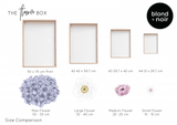 The Flower Box - MAXI -  Create Your Own Custom Floral Wall Decals!